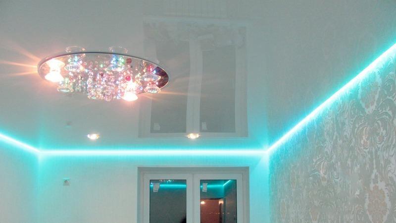 натяжной потолок с подсветкой спасибо Тарифы Йота